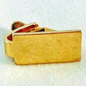 Gold Tone Tie Clip